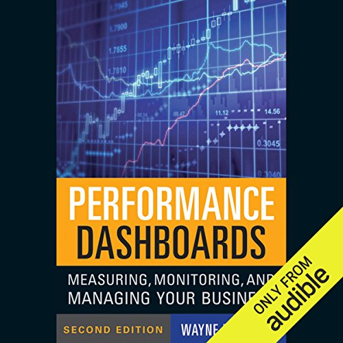 Performance Dashboards audiobook cover art
