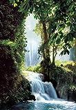 1art1 761 Wasserfälle - Zaragoza Falls (La Cola De