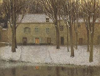 Little Place by the River by Henri Le Sidaner - 16