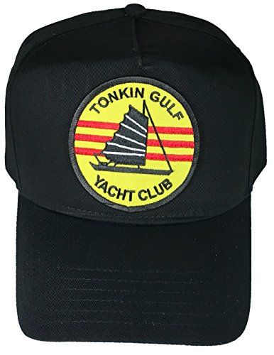 Tonkin Gulf Yacht Club HAT - Black - Veteran Owned Business