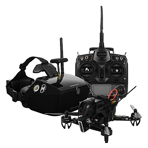 SWAGTRON SwagDrone 210-UP RTF Ready to Fly Racing Drone Kit with FPV...