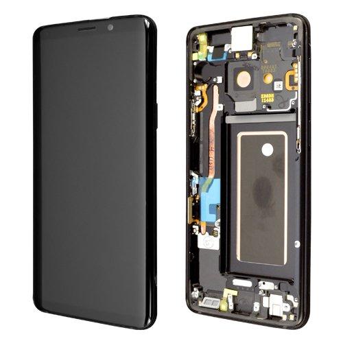 Preisvergleich Produktbild Wega LCD Display Samsung G960F Galaxy S9,  G960F DS Galaxy S9 Original full set black - SVC LCD ASSY-OCTA ASSY(E / BLK)