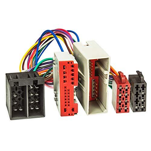 tomzz Audio 7315-003 T-Kabel ISO passend für Ford Fiesta,Fusion, Landrover Freelander zur Einspeisung von Freisprecheinrichtung ISO Verstärker für THB Parrot Dabendorf i-sotec Match