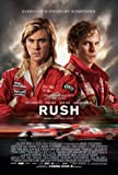 RUSH - CHRIS HEMSWORTH – Imported Movie Wall Poster Print