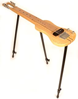 SX LAP 8 NAT 8 String Lap Steel Guitar w/Free Detachable Stand & Bag