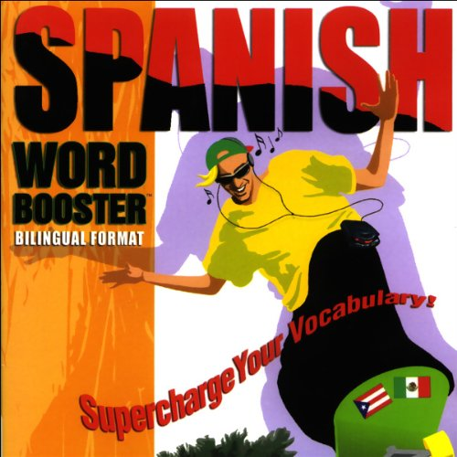 Spanish Word Booster audiobook cover art