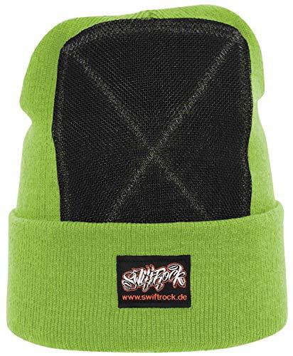 Swift Rock Classic Break Dance Headspin Beanie (Lime Green)