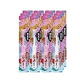 Amazon.co.jp限定 リーチ キッズ ディズニープリンセス はえかわり期用 歯ブラシ 12本セット 子ども用歯ブラシ