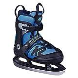 K2 Skates Jungen Schlittschuhe Velocity Ice Ltd — black - blue — EU:  32 - 37 (UK:  13 - 4 / US:  1 - 5) — 25D0306