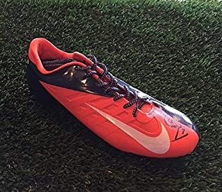 Authentic Autographed Ed Mccaffrey Nike Vapor Pro Football Cleat Shoe JSA/COA M90343 Broncos