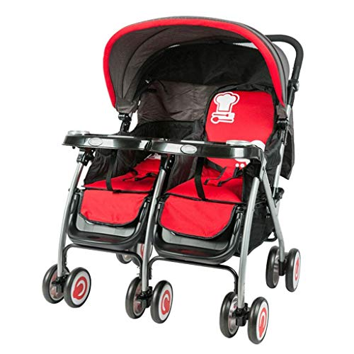 Haojiechunxiang Baby Good Twins Twin Kinderwagen können liegend sitzen Zweites Kind Double Shock Absorber