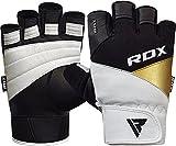 RDX Guantes Gimnasio Fitness Musculacion Culturismo Gym Levantamiento de Pesas Entrenamiento Halterofilia Powerlifting Antideslizante Deportivos Workout Weightlifting Gloves