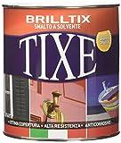 Tixe Brilltix Smalto a Solvente Anticorrosivo, Vernice, Bianco Lucido, 750 ml
