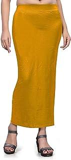 تنورة داخلية من الساري الدقيق للنساء، فستان من القطن الممزوج الشكل للارتداء في الملابس الداخلية