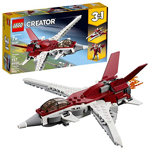 LEGO Creator 3in1 Futuristic Flyer 31086 Building Kit (157 Pieces)