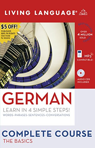Liv Lang Compl. German: Basics Pkg: The Basics (Living Language Complete Course)