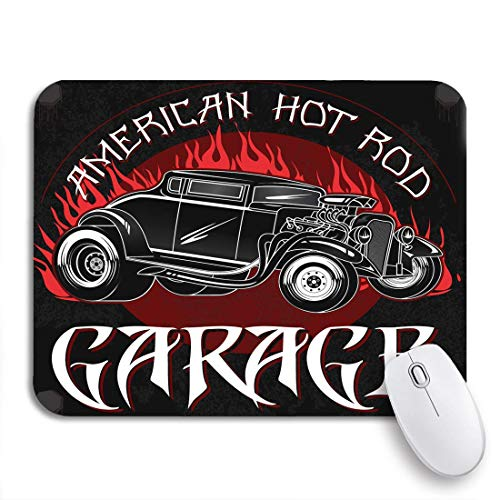 GLONLY American Hot Rod Garage Vintage de Custom Old School,