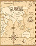RPG Dungeon Map Maker: Tabletop Role Play Games Hex Grid Game Board Design in Wargames Map a great tool for Dungeon Masters. (Dungeon Dragon)