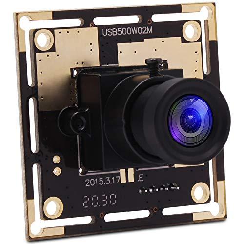 SVPRO USB Camera Module 5MP 3.6mm Lens MJPEG 2592X1944 CMOS OV5640 Mini CCTV Free Driver Mac Linux Android Windows USB Camera Board