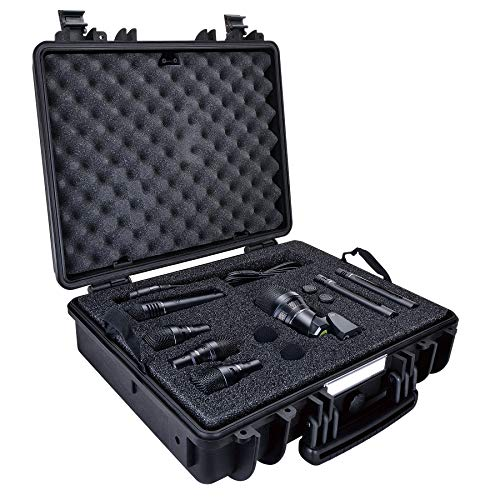3. Lewitt DTP Beat Kit Pro 7 Reference Class Drum Microphone Kit