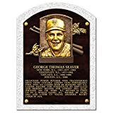 Mustang Product Tom Seaver Mets 3-D Textured Hall of Fame Gallery Plaque (10' x 14')