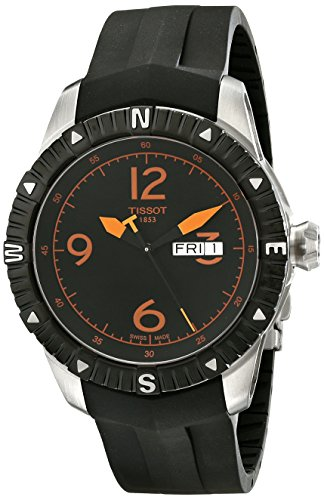 Tissot T-Navigator Herren-Armbanduhr 44mm Schweizer Automatik T0624301705701