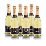alternativa® - Bollicine Bianco Sweet - 0.0% vol (confezione 6 bottiglie 750ml)...