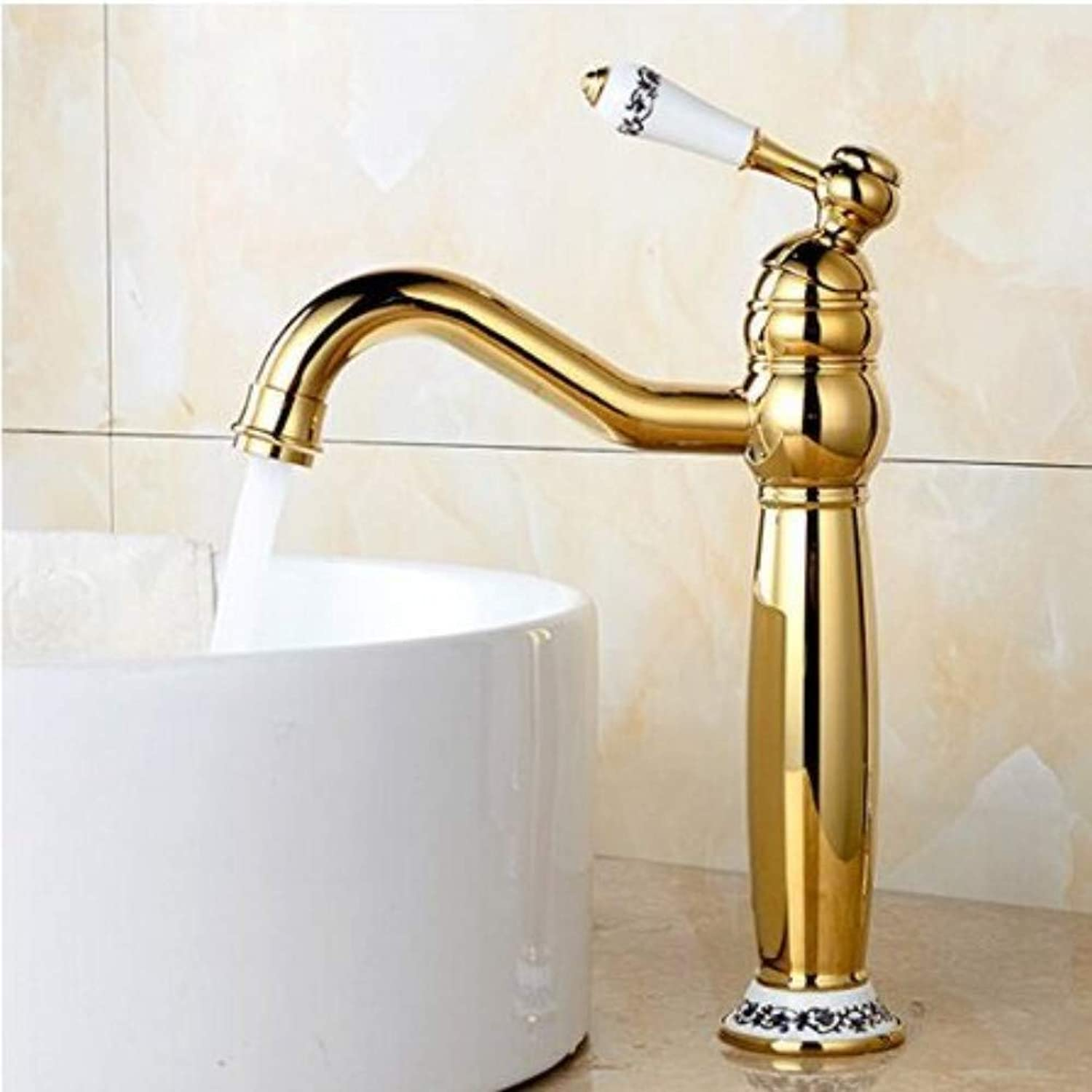 360° redating Faucet Retro Faucetbathroom Sink Taps Hot and Cold Fashion Vintage Faucet Sink Faucet