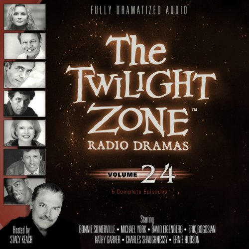 The Twilight Zone Radio Dramas, Volume 24 audiobook cover art