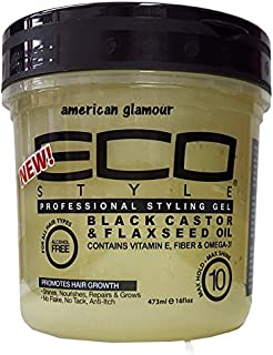 Eco Styler Black Castor & flaxseed Oil Professional