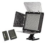 Yongnuo YN-300 LED de iluminación de regulación de vídeo luz de la lámpara SLR cámara DV videocámara con batería y cargador