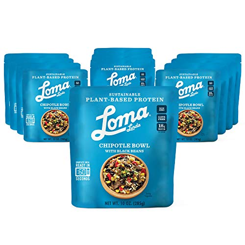 Loma Linda Blue Chipotle Bowl - Plant-Based Protein (10 oz.) (Pack of 12)