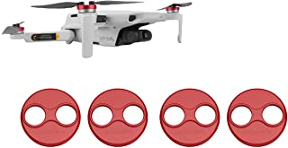 Tineer Aluminum Motor Cover Cap 4 Pieces for DJI Mavic Mini Drone Accessory - Dustproof,Waterproof,Scratchproof Protection...