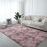 Tapis Fluffy Shaggy Filles Chambres Tapis Salon Grand Pas Cher Tapis Coureurs Tapis Tapis Salon Moderne Tapis carpette Couloir...