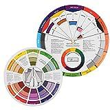 Rueda De Color, Paleta De Pintura, Mix Colors Guía Cromático Círculo Suministros Cromatografía Tatuaje Del Clavo Pigmento