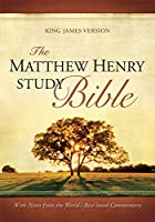 Matthew Henry Study Bible Black Bonded