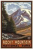 Northwest Art Mall Rocky Mountain National Park Springtime
