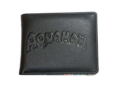 """DC Portemonnaie 80A336 mit der Prägung""""Aquaman"""" im Retro-Comic-Stil"""