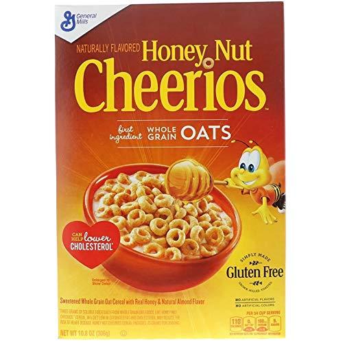 ジェネラルミルズ (General Mills) ハニーナット チェリオス Cheerios 10.8オンス (306 g) [並行輸入品]