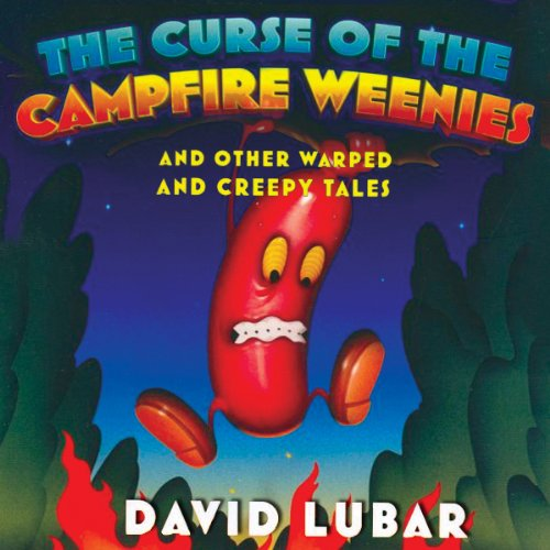 The Curse of the Campfire Weenies audiobook cover art