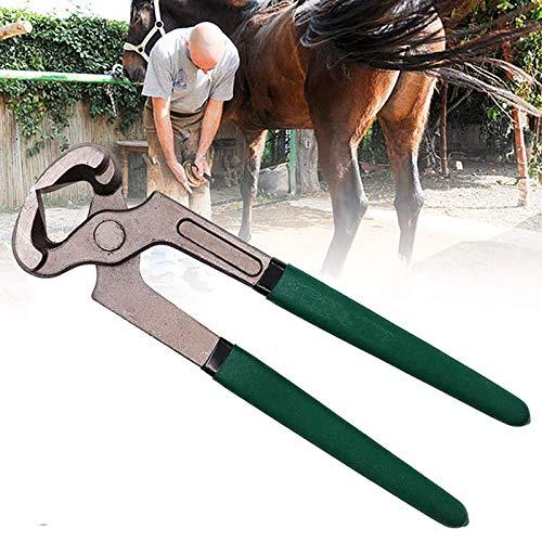 ZCME-power Hufzange, Hufzange für Pferde,Hufschuh Hufschmied Huf Werkzeug Zange, Professionelle Pferde Schneiden Horse Equine Farriers Cutter Griffmesser Werkzeuge