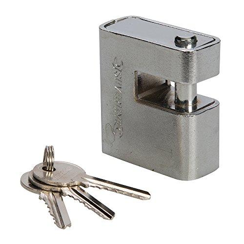 Silverline 819718 Gepanzertes Monoblock-Vorhängeschloss 60 mm