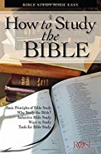 How to Study the Bible pamphlet: Bible Study Made Easy