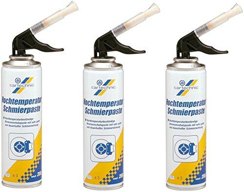 3x BREMSEN-SERVICEPASTE HOCHTEMPERATUR SCHMIERPASTE