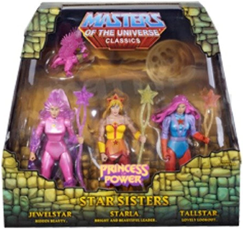 MOTU  He Man Classics, Star Sisters 3 Pack Figures