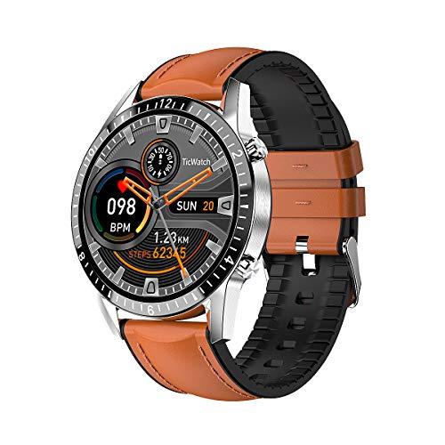 LIGE Smartwatch, Touchscreen Fitness Sport wasserdichte Uhr Activity Tracker Herzfrequenz Schlafmonitor Stoppuhr Schrittzähler Intelligenteuhr Männer Mode Klassische Armbanduhr für Android iOS