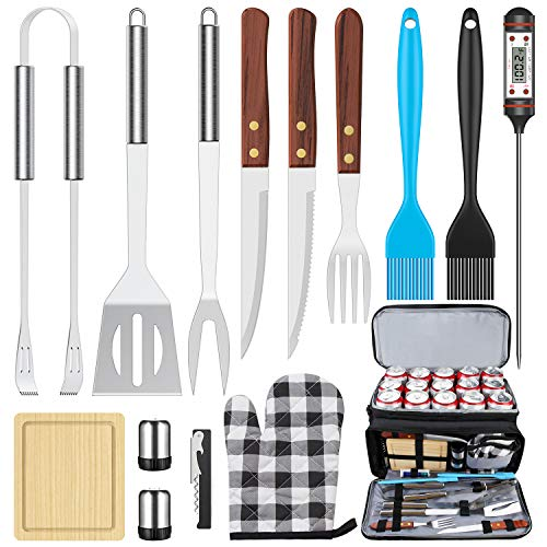 BBQ Grill Accessories BBQToolsSet, AISITIN 35 PCS BBQ Grilling Accessories,...