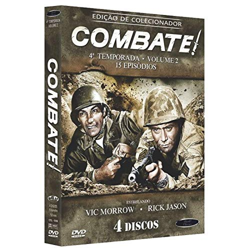 Combate 4ª Temporada Volume 2 Digibook 4 Discos