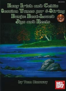 Easy Irish and Celtic Tunes for 5-String Banjo Book/CD Set