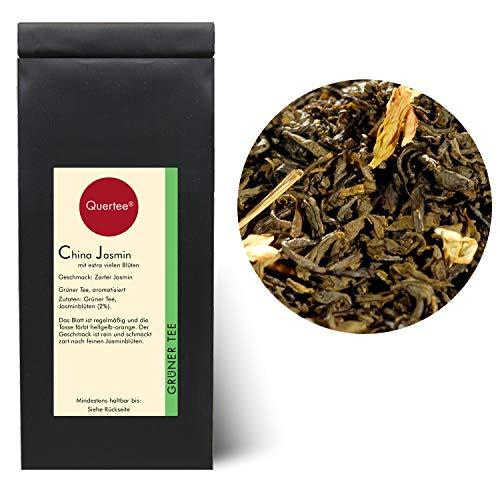 Quertee® - Té verde - té de jazmín de China Riche en flores - 250 g